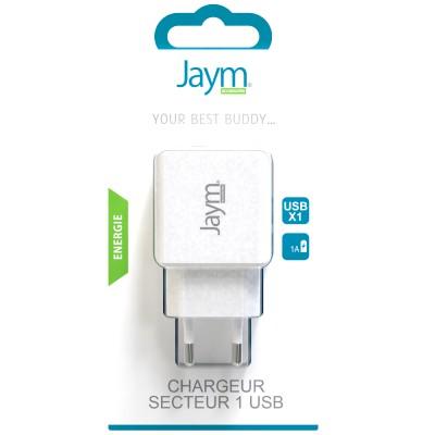 Chargeur secteur 1 USB
