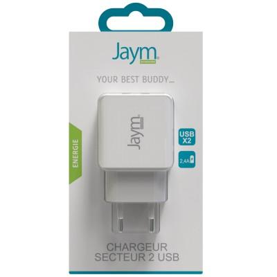 Chargeur secteur 2 USB