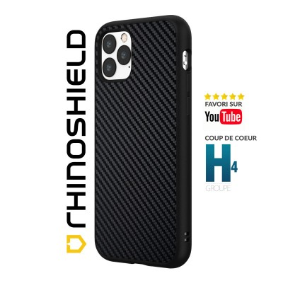 Coque Rhinoshield Solidsuit Carbone iphone 12/12 pro