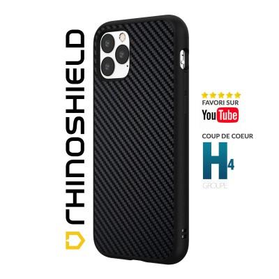 Coque Rhinoshield Solidsuit Carbone iphone 11