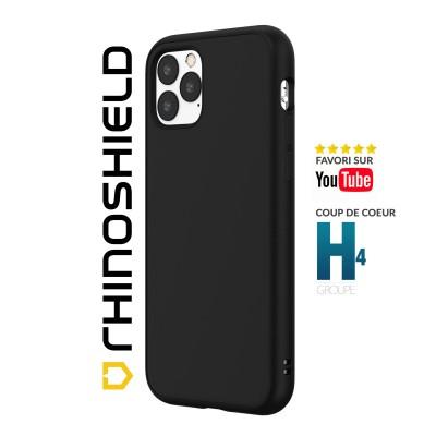 Coque Rhinoshield Solidsuit noire iphone 12 mini