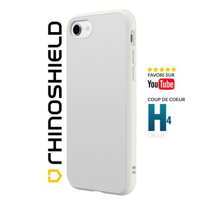 Coque Rhinoshield Solidsuit blanche iphone 7/8/SE 2020