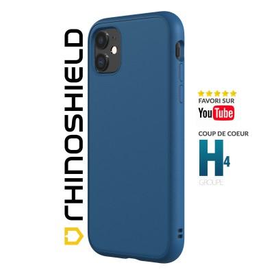 Coque Rhinoshield Solidsuit bleue iphone 11