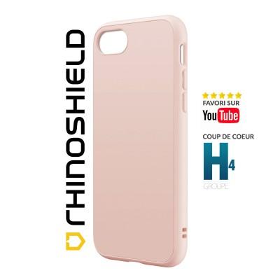 Coque Rhinoshield Solidsuit rose iphone 7/8/SE 2020