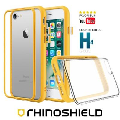 Coque Rhinoshield MOD NX jaune iphone 7/8/SE 2020