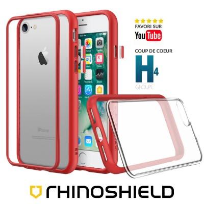 Coque Rhinoshield MOD NX rouge iphone 7/8/SE 2020