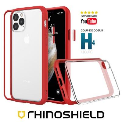 Coque Rhinoshield MOD NX rouge iphone 12 mini