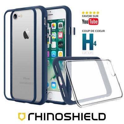 Coque Rhinoshield MOD NX bleue iphone 7/8/SE 2020