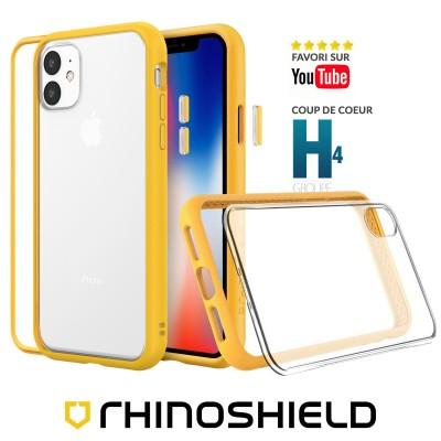 Coque Rhinoshield MOD NX jaune iphone 11