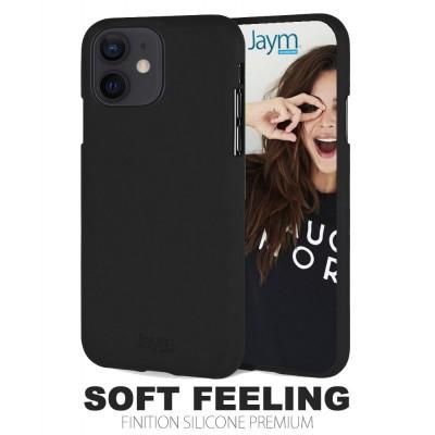 Coque silicone noire Iphone 12 mini