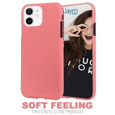 Coque silicone rosee Iphone 12 mini