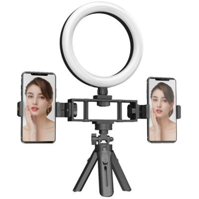Lampe selfie - vidéos BT double support