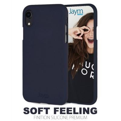 Coque silicone bleue Samsung A40