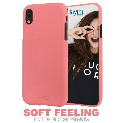 Coque silicone rose Samsung S20 Plus