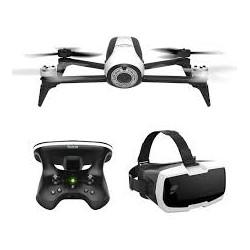 Drone Bebop 2 Blanc + Lunettes FPV + Sky2