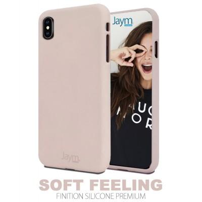 Coque silicone rose Iphone 11 Pro Max