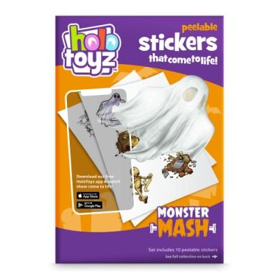 Stickers interactifs 3D monstres Holotoyz