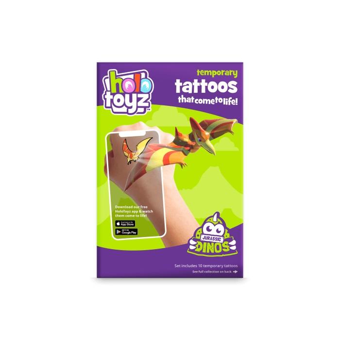 Tatouages intractifs dinos Holotoyz