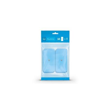 BLUETENS - Pack de 8 electrodes M