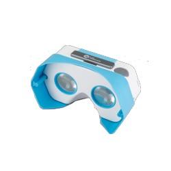 PLASTIC VR CARDBOARD BLEU