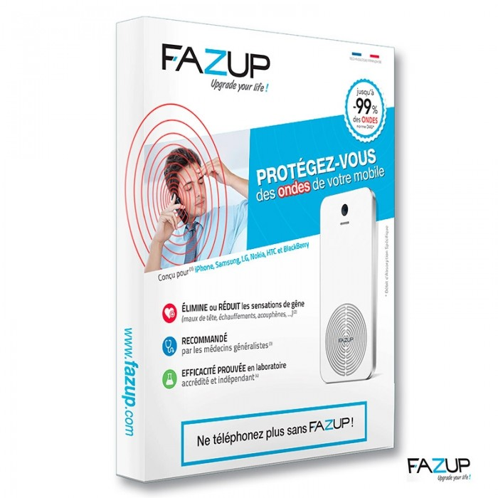 FAZUP, patch anti-ondes pour smartphone