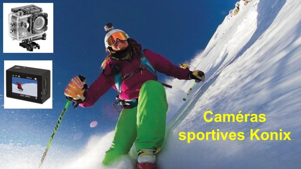 Caméra sportive Konix